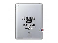 Coque iPad 2 Je Dribble Comme Cristiano