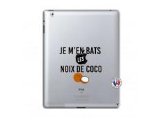 Coque iPad 2 Je m'en bats Les Noix De Coco