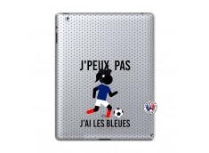 Coque iPad 2 Je Peux Pas J Ai Les Bleues Maillot