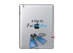 Coque iPad 2 Je Peux Pas J Ai Natation