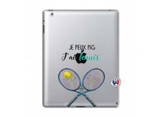 Coque iPad 2 Je Peux Pas J Ai Tennis