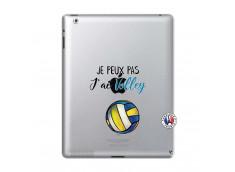Coque iPad 2 Je Peux Pas J Ai Volley