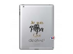 Coque iPad 2 Je Suis Un Papa Qui Dechire