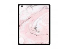 Coque iPad 2 Marbre Rose Noir