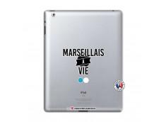 Coque iPad 2 Marseillais à Vie