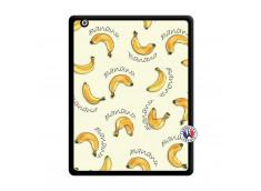 Coque iPad 2 Sorbet Banana Split Noir
