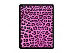 Coque iPad 2 Pink Leopard Noir