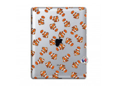 Coque iPad 2 Petits Poissons Clown