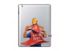 Coque iPad 2 Super Papa et Super Bébé