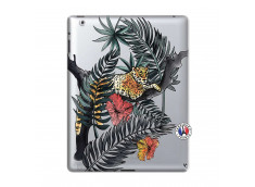 Coque iPad 2 Leopard Tree