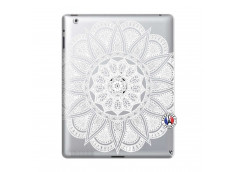 Coque iPad 2 White Mandala