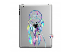 Coque iPad 3/4 Retina Blue Painted Dreamcatcher