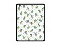 Coque iPad 3/4 Retina Le Monde Entier est un Cactus Noir