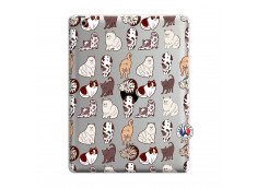 Coque iPad 3/4 Retina Cat Pattern