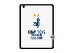 Coque iPad 3/4 Retina Champion Du Monde Noir
