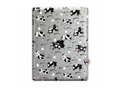 Coque iPad 3/4 Retina Cow Pattern