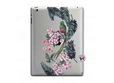 Coque iPad 3/4 Retina Flower Birds
