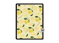 Coque iPad 3/4 Retina Sorbet Citron Noir