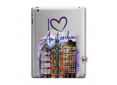 Coque iPad 3/4 Retina I Love Amsterdam