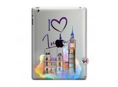 Coque iPad 3/4 Retina I Love London