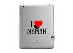 Coque iPad 3/4 Retina I Love Maman