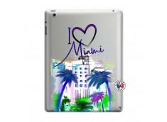 Coque iPad 3/4 Retina I Love Miami
