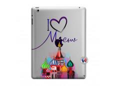 Coque iPad 3/4 Retina I Love Moscow