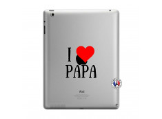 Coque iPad 3/4 Retina I Love Papa