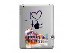 Coque iPad 3/4 Retina I Love Rome
