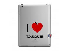 Coque iPad 3/4 Retina I Love Toulouse