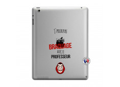 Coque iPad 3/4 Retina J Peux Pas J Ai Un Braquage Avec Le Professeur