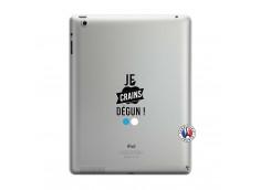 Coque iPad 3/4 Retina Je Crains Degun