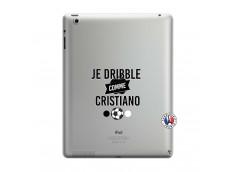 Coque iPad 3/4 Retina Je Dribble Comme Cristiano