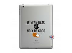 Coque iPad 3/4 Retina Je m'en bats Les Noix De Coco