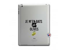 Coque iPad 3/4 Retina Je M En Bas Les Olives