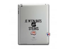 Coque iPad 3/4 Retina Je M En Bas Les Steaks