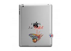 Coque iPad 3/4 Retina Je Peux Pas J Ai Basket