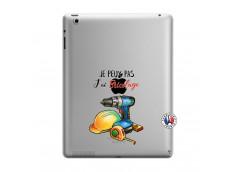 Coque iPad 3/4 Retina Je Peux Pas J Ai Bricolage