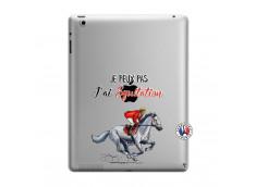 Coque iPad 3/4 Retina Je Peux Pas J Ai Equitation