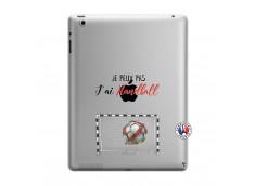 Coque iPad 3/4 Retina Je peux pas j'ai Handball