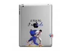 Coque iPad 3/4 Retina Je peux pas j'ai Judo