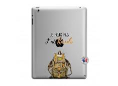 Coque iPad 3/4 Retina Je Peux Pas J Ai Rando