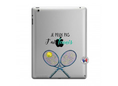 Coque iPad 3/4 Retina Je Peux Pas J Ai Tennis