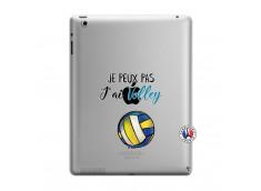 Coque iPad 3/4 Retina Je Peux Pas J Ai Volley