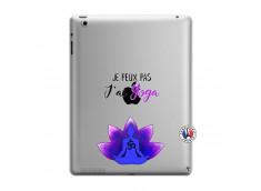 Coque iPad 3/4 Retina Je Peux Pas J Ai Yoga