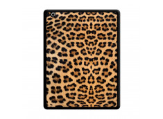Coque iPad 3/4 Retina Leopard Style Noir