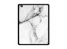 Coque iPad 3/4 Retina White Marble Noir