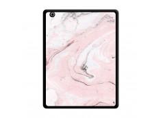 Coque iPad 3/4 Retina Marbre Rose Noir