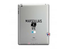 Coque iPad 3/4 Retina Marseillais à Vie