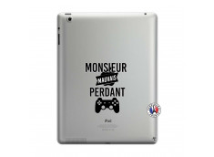 Coque iPad 3/4 Retina Monsieur Mauvais Perdant